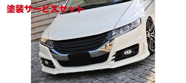 ★色番号塗装発送フロントバンパー【ノブレッセ】オデッセイ RB3/4 タイプユーロ フロントバンパー