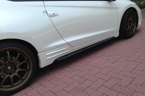 サイドステップ【ノブレッセ】CR-Z ZF1/2 スタイルスポーツ サイドステップ 未塗装