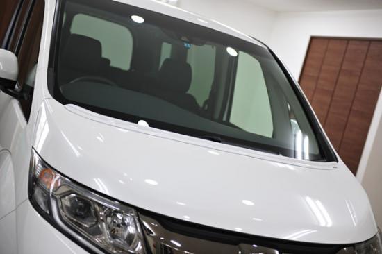 ボンネットスポイラー【ノブレッセ】汎用ボンネットスポイラー タイプA ステップワゴン RP 塗装済 クリスタルブラックパール (NH731P)