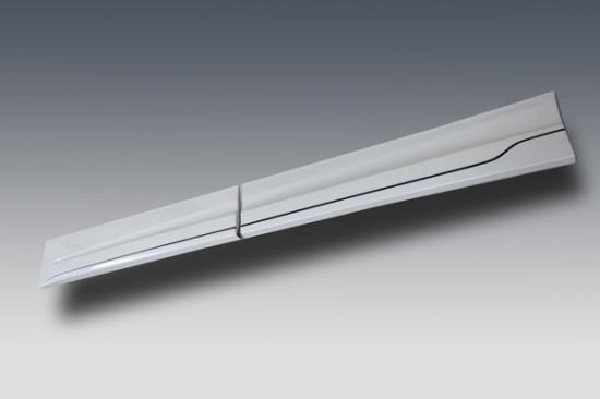 サイドステップ【ノブレッセ】ヴェルファイア 30系 ドアパネル一体式サイドステップ 未塗装