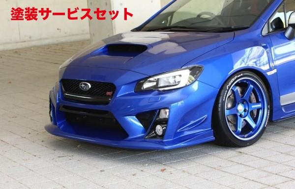 ★色番号塗装発送WRX VA STI S4   フロントバンパー【イングス】N-SPEC VAB WRX STI / VAG WRX S4 フロントバンパー