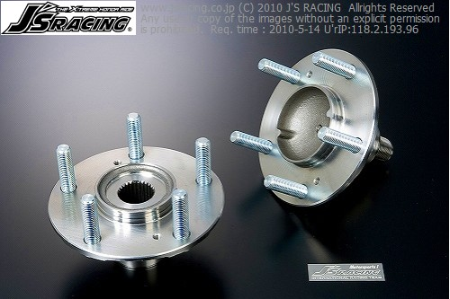 S2000 AP1/2   ハブ【ジェイズレーシング】S2000 AP1/2 フロントハブASSY 強化ロングハブボルト20mm圧入済み
