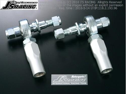 S2000 AP1/2 | タイロッドエンド【ジェイズレーシング】S2000 AP1/2 ピロタイロッドエンドセット