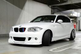 BMW 1 Series E87 | フロントハーフ【ケーアールシー】BMW E87 フロント ハーフ スポイラー FRP
