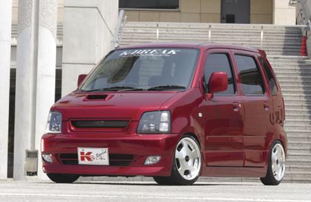 MC ワゴンR | ボンネットスポイラー【ケイブレイク】WAGON-R(MC21S) Bonnet Spoiler