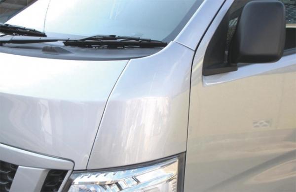 E26 NV350 キャラバン CARAVAN | エアロ その他 / (塗装必要品)【レガンス】NV350キャラバン E26 ABSコーナーパネル メーカー塗装済 ブリリアントシルバー (M) <#K23>