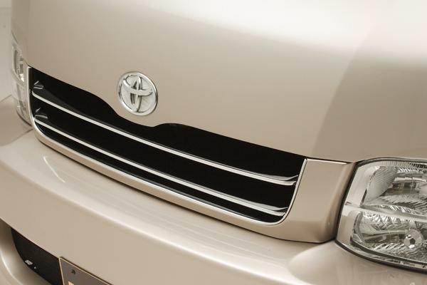 200 ハイエース ワイド | フロントグリル【レガンス】ハイエース 200系 ワイドボディ フロントグリル FRP製 2型