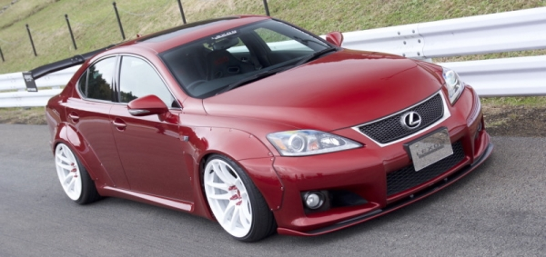 "レクサス IS F | オーバーフェンダー / トリム【レクソン】LEXUS IS-F ""LEXON exclusive feat. Rocket Bunny #1"" over fender kits Front & Rear set"