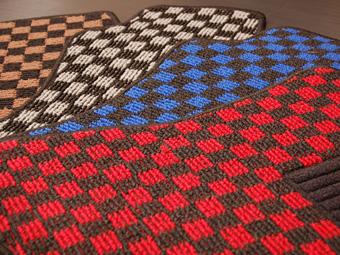 エクシーガ | フロアマット【リベラル】エクシーガ YA フロアマット レッド × ブラック