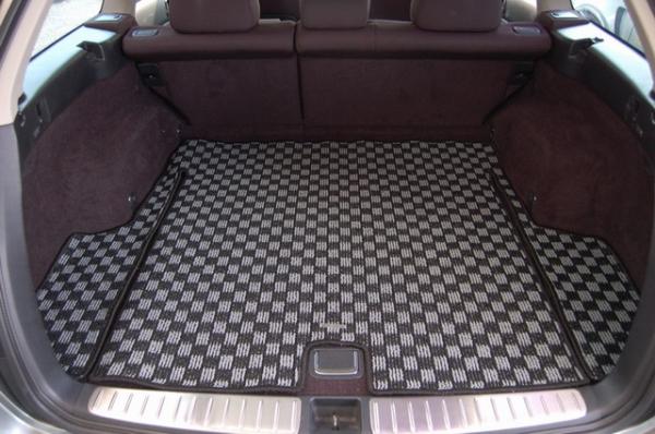 BR レガシィ ツーリングワゴン | トランクマット/ラゲッジマット【リベラル】レガシィツーリングワゴン BR カーゴマット グレー × ブラック