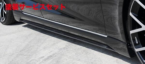 ★色番号塗装発送【★送料無料】 サイドステップ【アーティシャンスピリッツ】TESLA Model S SPORTS LINE BLACK LABAL ARTISAN O.F.K. Edition SIDE STEP 2P FRP