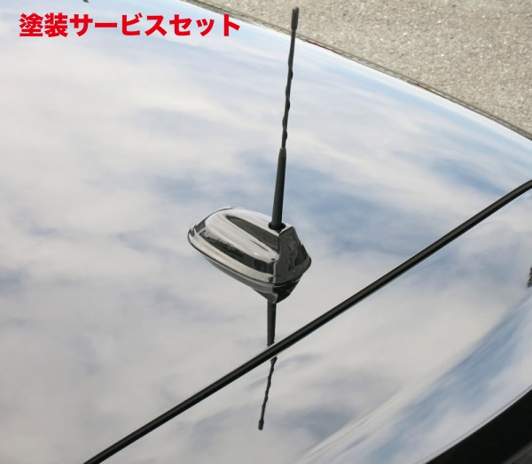 ★色番号塗装発送BMW Mini F56 | アンテナ【フリークラフト / MACS CORPORATION】BMW MINI F55/56 ルーフアンテナカバー カラー:リアルカーボン柄
