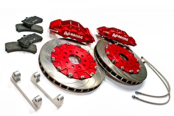 S2000 AP1/2 | ブレーキキット【エムアンドエム ホンダ】S2000 AP1/2 AP レーシングブレーキシステム タイプ6L355-32 /レッドモデル ベルカラー/レッド