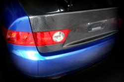 CL7 アコードユーロR   トランク / テールゲート【エムアンドエム ホンダ】アコード ユーロR CL7 カーボントランク タイプ2/平織りカーボンFRP クリア塗装(メーカー塗装)