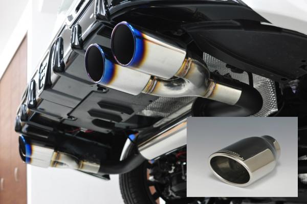 50 プリウス | ステンマフラー【ノブレッセ】プリウス 55 ステンレスマフラー Highステン テール/タイプS02 4WD
