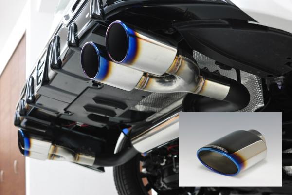 50 プリウス | ステンマフラー【ノブレッセ】プリウス 55 ステンレスマフラー Highステン テール/タイプT01 4WD