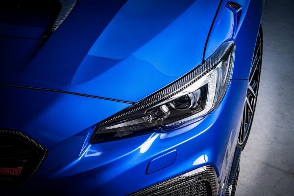 WRX VA STI S4 | アイライン【ロエン / トミーカイラ】WRX STI/S4 VAB/VAG・レヴォーグ VM アイラインガーニッシュ FRP 未塗装