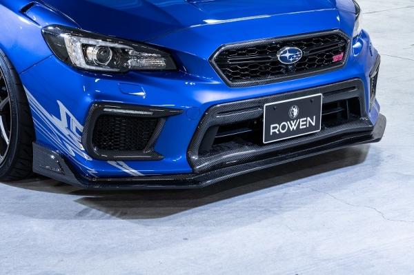 WRX VA STI S4   フロントグリル【ロエン / トミーカイラ】WRX STI/S4 VAB/VAG 後期 ロアグリルエクステンション FRP 塗装済 ラピスブルー・パール (K3X)