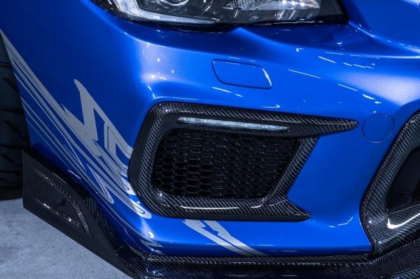 WRX VA STI S4   フロントバンパー / エアダクト【ロエン / トミーカイラ】WRX STI VAB 後期 サイドダクトエクステンション