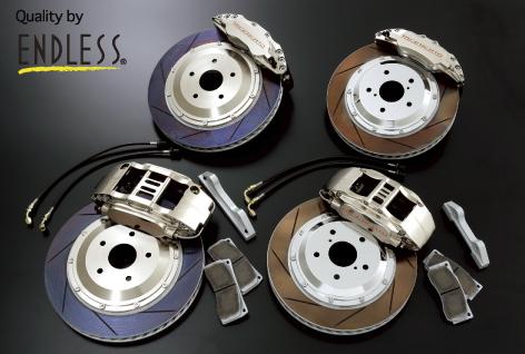 LEXUS GS S190 | ブレーキキット【アドミレイション】LEXUS GS 350/430/450h 前期 WURDE LS-6&4ブレーキシステム (スパークオレンジ)