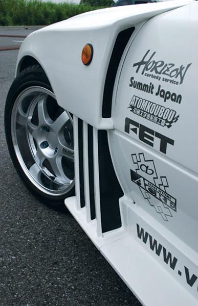 NA ロードスター | フロントフェンダー / (交換タイプ)【ガレージベリー】ロードスター NA フロントフェンダー T-2 FRP製