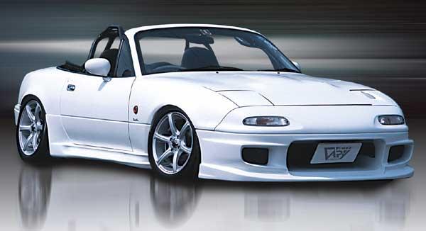 NA Roadster | サイドステップ | GARAGE VARY NA ロードスター | サイドステップ【ガレージベリー】ロードスター NA サイドステップ Type-N FRP製