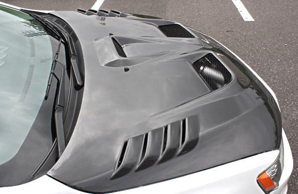 ランサーエボ 10 | ボンネットフード【ガレージベリー】ランサーエボ 10 ボンネット FRP製