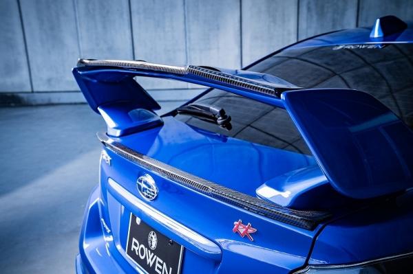 WRX VA STI S4 | ガーニーフラップ【ロエン / トミーカイラ】WRX STI/S4 VAB/VAGリヤガーニーフラップ Wet Carbon(クリア塗装済)