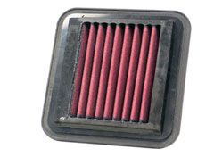 【グループエム】K&N エアーフィルター 純正交換タイプ SUZUKI セルボモード 【 90.07-91.09 】 CN31S Turbo グレード: [排気量]660 《 F6B(T) 》 純正品番:13780-54E00
