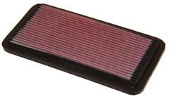 【グループエム】K&N エアーフィルター 純正交換タイプ TOYOTA MR2 【 89.12-99.10 】 SW20 Turbo グレード: [排気量]2000 《 3S-GTE 》 純正品番:17801-74020