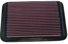 【グループエム】K&N エアーフィルター 純正交換タイプ TOYOTA エスティマ 【 94.08-99.12 】 TCR10/11/20/21W SuperCharger グレード: [排気量]2400 《 2TZ-FZE 》 純正品番:17801-35020