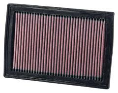 【グループエム】K&N エアーフィルター 純正交換タイプ TOYOTA カムリ 【 11.09- 】 AVV50 Hybrid グレード: [排気量]2500 《 2AR-FXE 》 純正品番:17801-38011