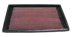 【グループエム】K&N エアーフィルター 純正交換タイプ SAAB 900 【 94-98 】 グレード:2.5 V6-24V 170ps [排気量]2500 純正品番:4236063/90322261