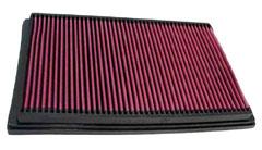 【グループエム】K&N エアーフィルター 純正交換タイプ VOLVO ボルボ S60 【 01-09 】 RB5244 グレード:2.4 NA / TURBO [排気量]2400 《 B5244 》 純正品番:9454647