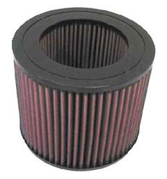 【グループエム】K&N エアーフィルター 純正交換タイプ TOYOTA ランドクルーザー 【 82.10-90.01 】 HJ60V Diesel グレード: [排気量]4000 《 2H 》 純正品番:17801-68020