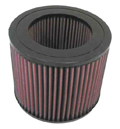 【グループエム】K&N エアーフィルター 純正交換タイプ TOYOTA ランドクルーザー 【 95.01-98.01 】 HDJ81V Diesel Turbo グレード: [排気量]4200 《 1HD-FT 》 純正品番:17801-68030
