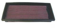 【グループエム】K&N エアーフィルター 純正交換タイプ VOLKSWAGEN ゴルフ GOLF 1 【 76-82 】 グレード:1.8 ( -'82) [排気量]1800 純正品番:49133843