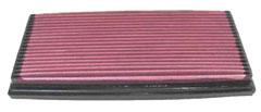 【グループエム】K&N エアーフィルター 純正交換タイプ CITROEN (シトロエン) C5 【 01-04 】 X4XFX/X4XFXW グレード:3.0 210ps [排気量]3000 《 XFX 》