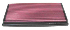 【グループエム】K&N エアーフィルター 純正交換タイプ CITROEN (シトロエン) XANTIA 【 97-01 】 X2XF グレード:3.0 V6 190ps [排気量]3000 《 XF 》