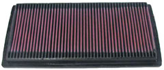 【グループエム】K&N エアーフィルター 純正交換タイプ DODGE(ダッヂ) RAM PICK UP 【 94-02 】 グレード:3.9/5.2/5.9 1500/2500/3500 [排気量]3.9/5.2/5.9L