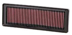 【グループエム】K&N エアーフィルター 純正交換タイプ FIAT (フィアット)GRANDE PUNTO 【 07-10 】 199142 グレード:1.4 8V 77ps [排気量]1400 《 350A1 》 純正品番:55192012
