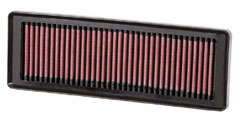 【グループエム】K&N エアーフィルター 純正交換タイプ FIAT (フィアット)PUNTO 【 10-14 】 199144 グレード:1.4 8V 77ps / EVO [排気量]1400 《 350A1 》 純正品番:55192012