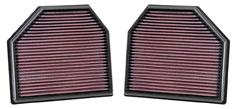 【グループエム】K&N エアーフィルター 純正交換タイプ BMW 3 シリーズ F80 【 14- 】 3C30 グレード:M3 3.0TT [排気量]3000 《 S55B30A 》 純正品番:13727843283/13727843284