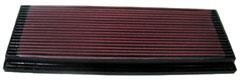 【グループエム】K&N エアーフィルター 純正交換タイプ FORD MONDEO 【 94-00 】 WFOFNG/WFONNG グレード:2.0 L4 ZETEC [排気量]2000 純正品番:93BB9601AB/F5RZ9601C