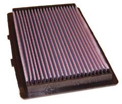 【グループエム】K&N エアーフィルター 純正交換タイプ FORD PROBE 【 92-97 】 1ZVTB グレード:2.5 V6 24V US-SPEC [排気量]2500 《 KL 》