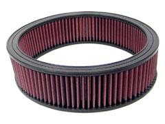【グループエム】K&N エアーフィルター 純正交換タイプ CHEVROLET(シボレー) ASTRO 【 86-94 】 グレード:4.3 [Z] (Round filter) [排気量]4300