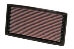 【グループエム】K&N エアーフィルター 純正交換タイプ CHEVROLET(シボレー) BLAZER/TAHOE 【 93-05 】 CT34G グレード:4.3 [W] (Panel filter) [排気量]4300