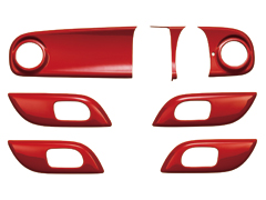 N-ONE   インテリアパネル【ムゲン】N-ONE JG1/JG2 ナビ装着用スペシャルパッケージ装備車/オーディオレス車 インテリアパネル プレミアムホワイト・P (PW)
