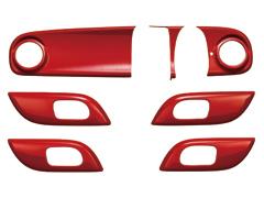 N-ONE | インテリアパネル【ムゲン】N-ONE JG1/JG2 ディスプレイオーディオ装備車 インテリアパネル ミラノレッド (MR)