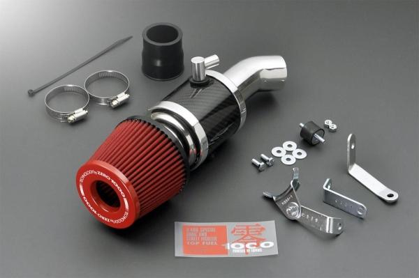 エブリイワゴン DA17W | エアクリーナー キット【ゼロ1000】エブリイ ワゴン・バン DA17W/DA64W/DA62W・DA17V/DA64V エアクリーナーキット パワーチャンバー for K-Car スーパーレッド